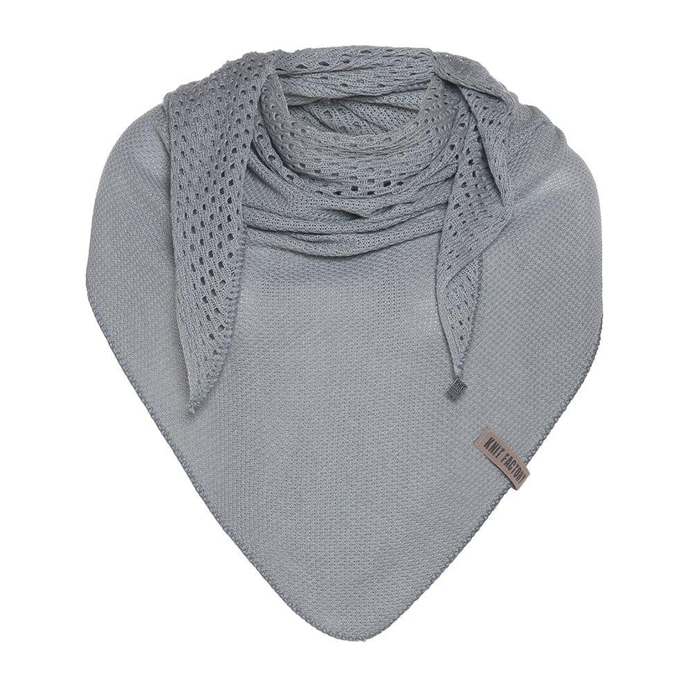 knit factory kf152060011 april omslagdoek licht grijs 1