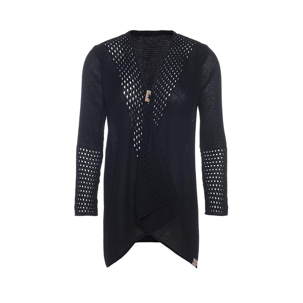 knit factory kf15208100051 april vest zwart 4042 1