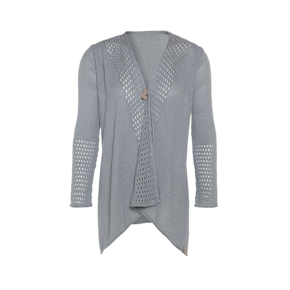knit factory kf15208101149 april vest licht grijs 3638 1