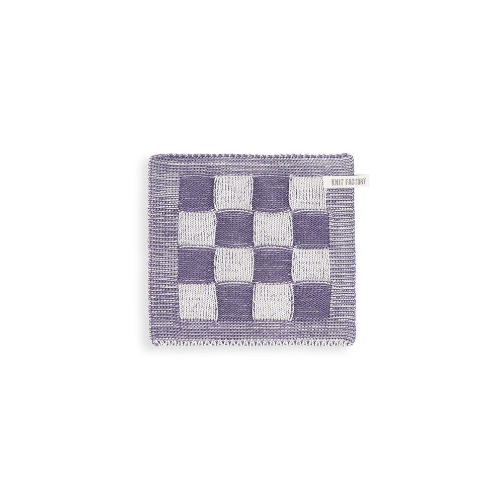 knit factory kf201203293 pannenlap block ecru violet 1