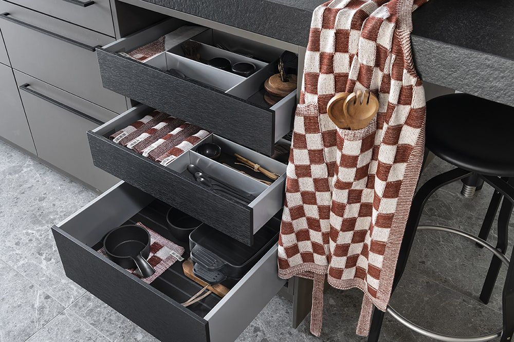 knit factory kf201204286 keukenschort block ecru roest 3