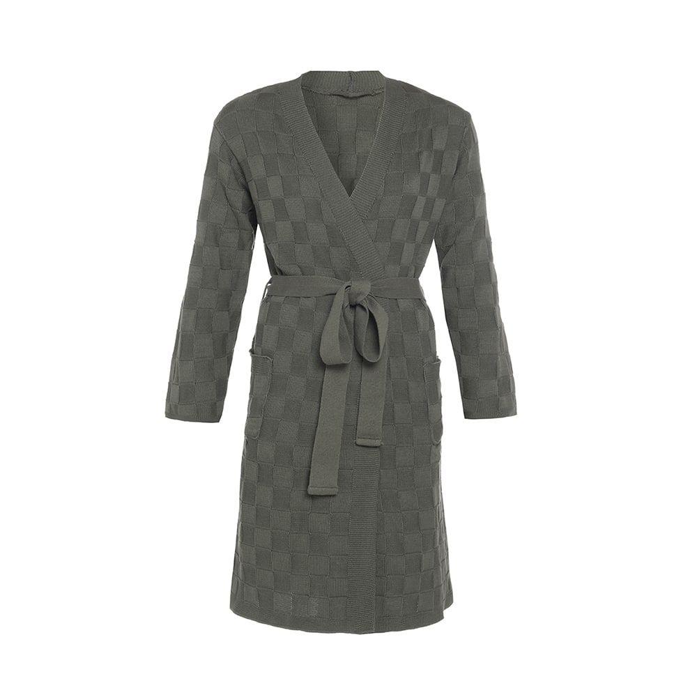 knit factory kf20222002551 badjas ivy khaki lxl 1