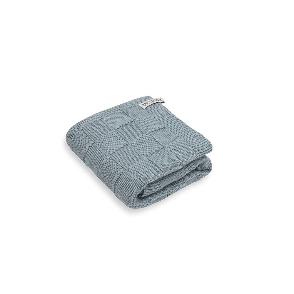 knit factory kf20222500949 handdoek ivy stone green 50x100 1