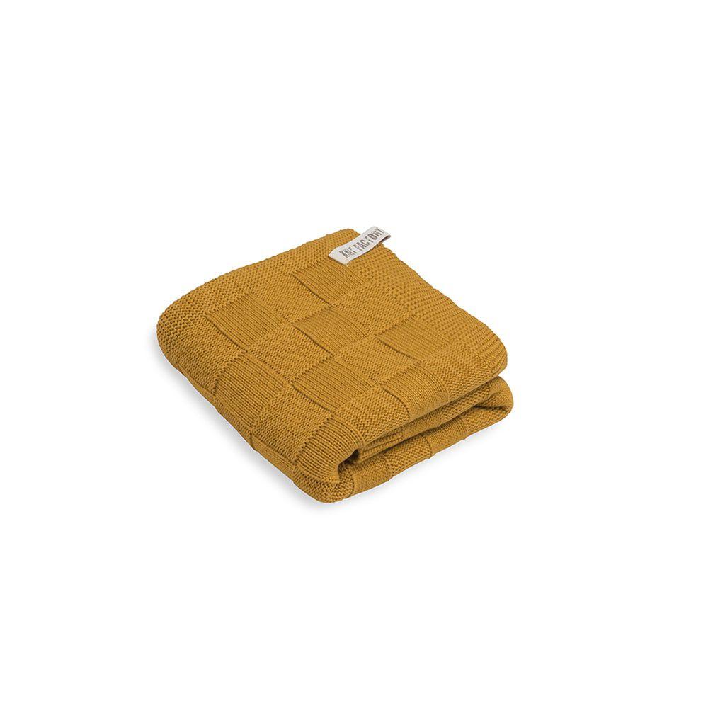 knit factory kf20222501750 handdoek ivy oker 60x110 1