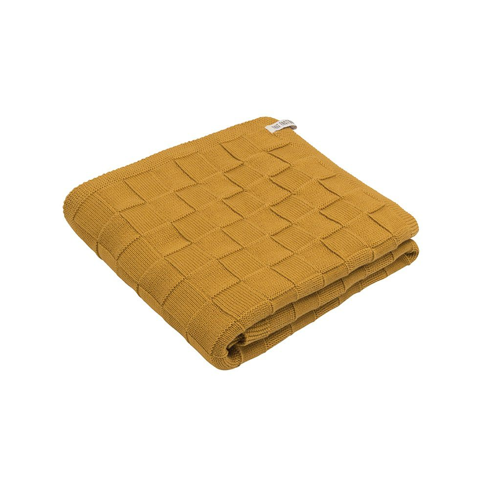 knit factory kf20222501751 badhanddoek ivy oker 1
