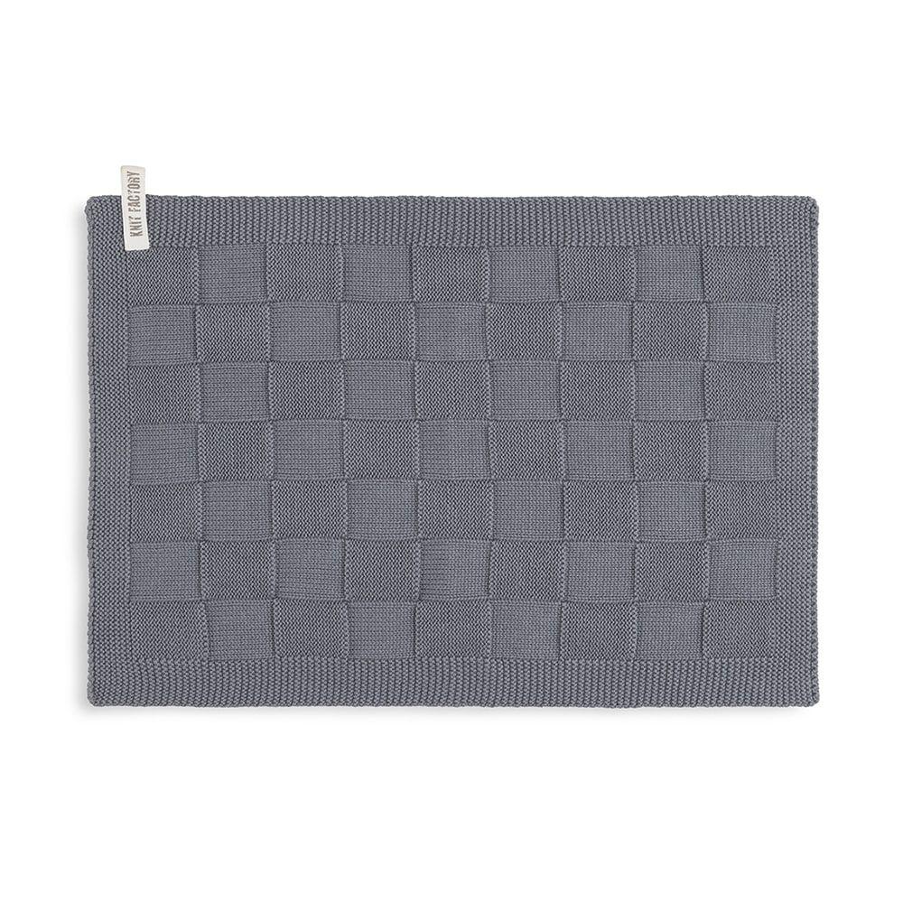 knit factory kf202226006 gastendoekje ivy med grey 1
