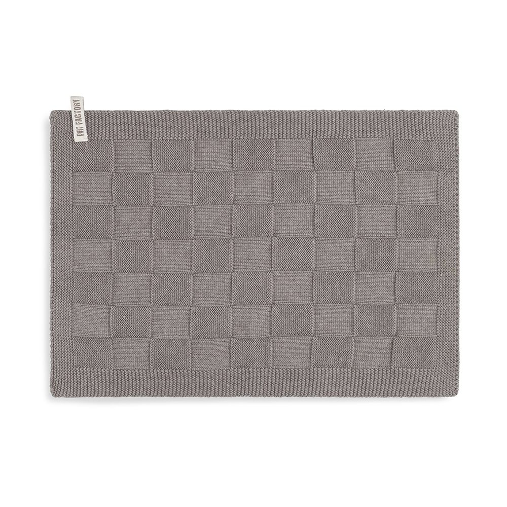 knit factory kf202226029 gastendoekje ivy taupe 1