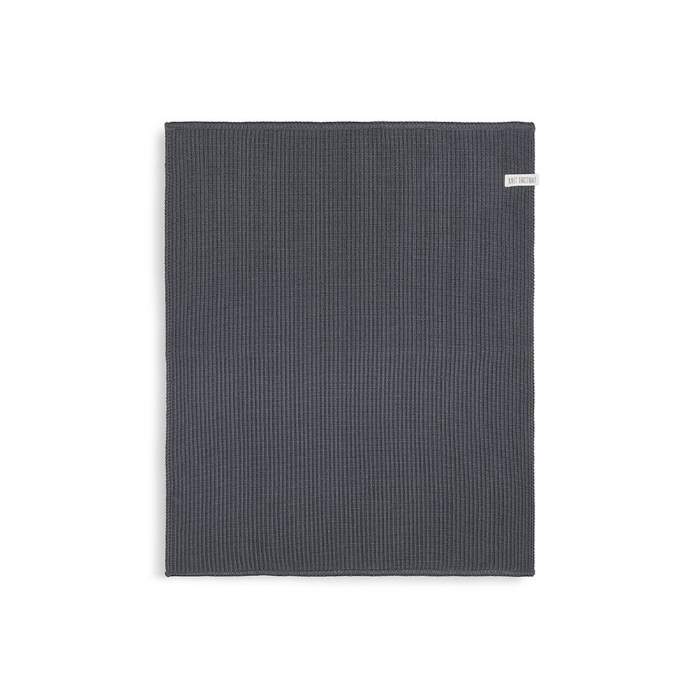 knit factory kf20322801050 badmat morres antraciet 60x50 1