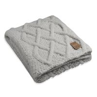 Andes Alpaca Plaid Light Grey