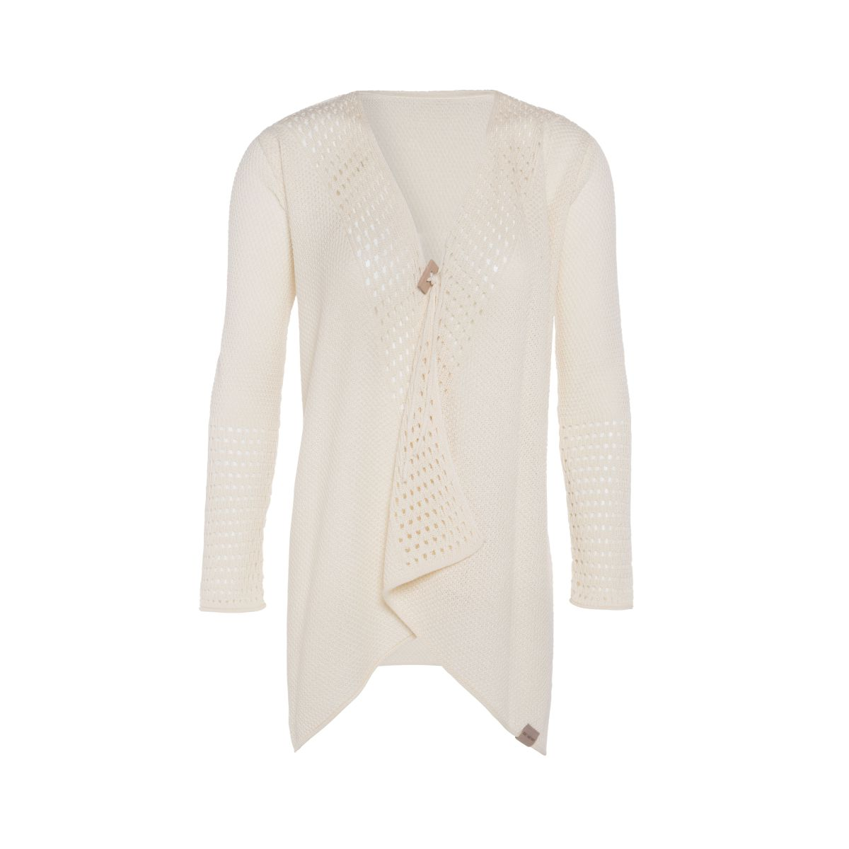 april knitted cardigan ecru 3638
