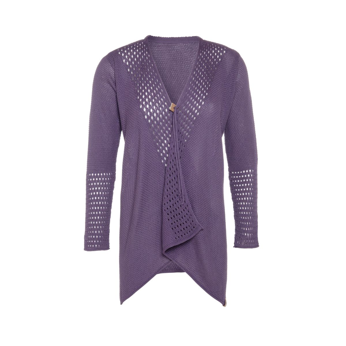 april knitted cardigan violet 4042