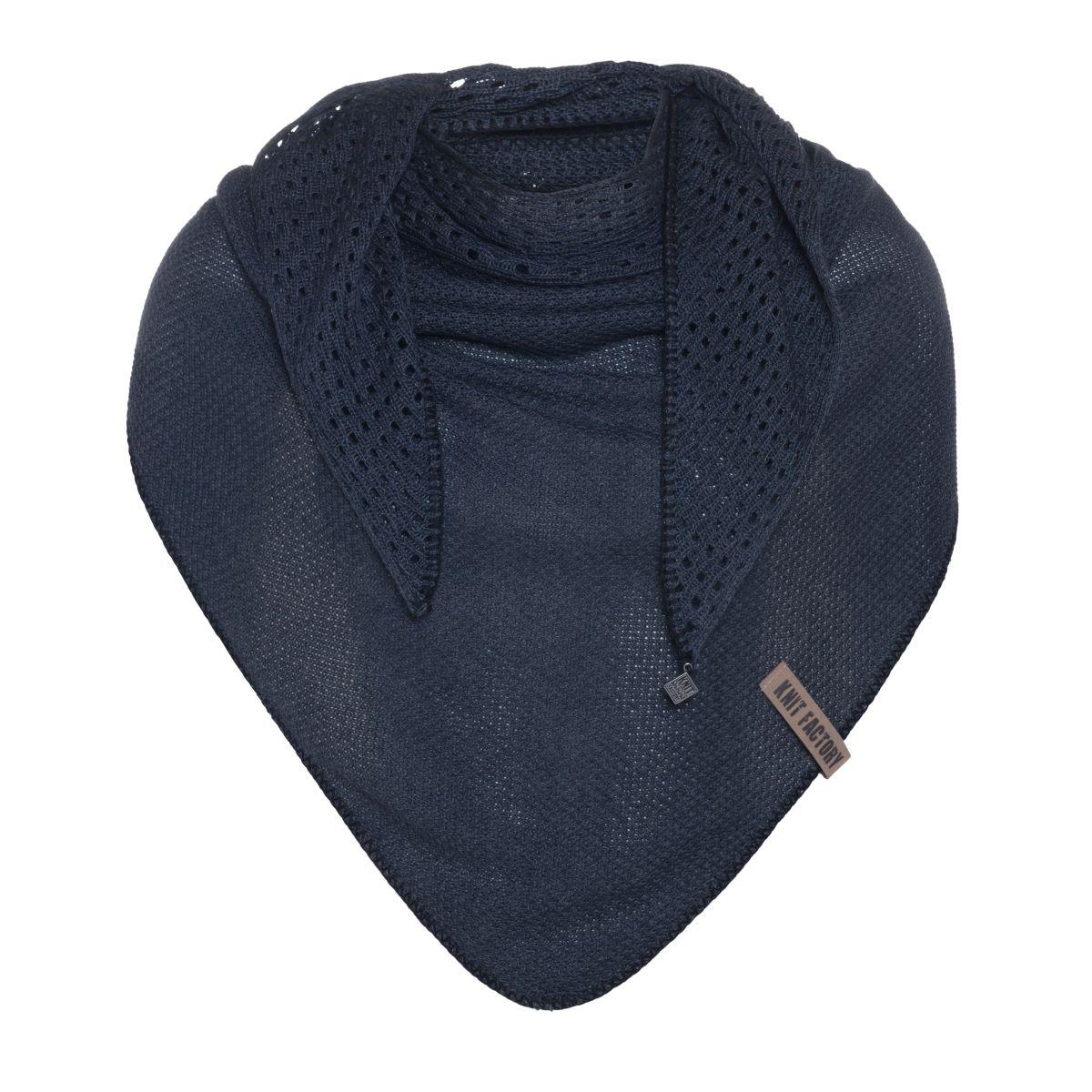 april triangle scarf denim