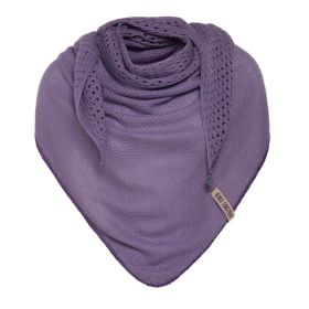 April Triangle Scarf Violet
