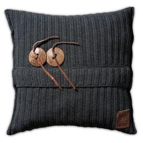Aran Cushion Anthracite - 50x50