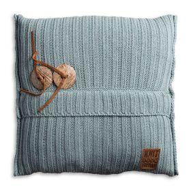 Aran Cushion Stone Green - 50x50