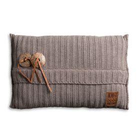 Aran Cushion Taupe - 60x40