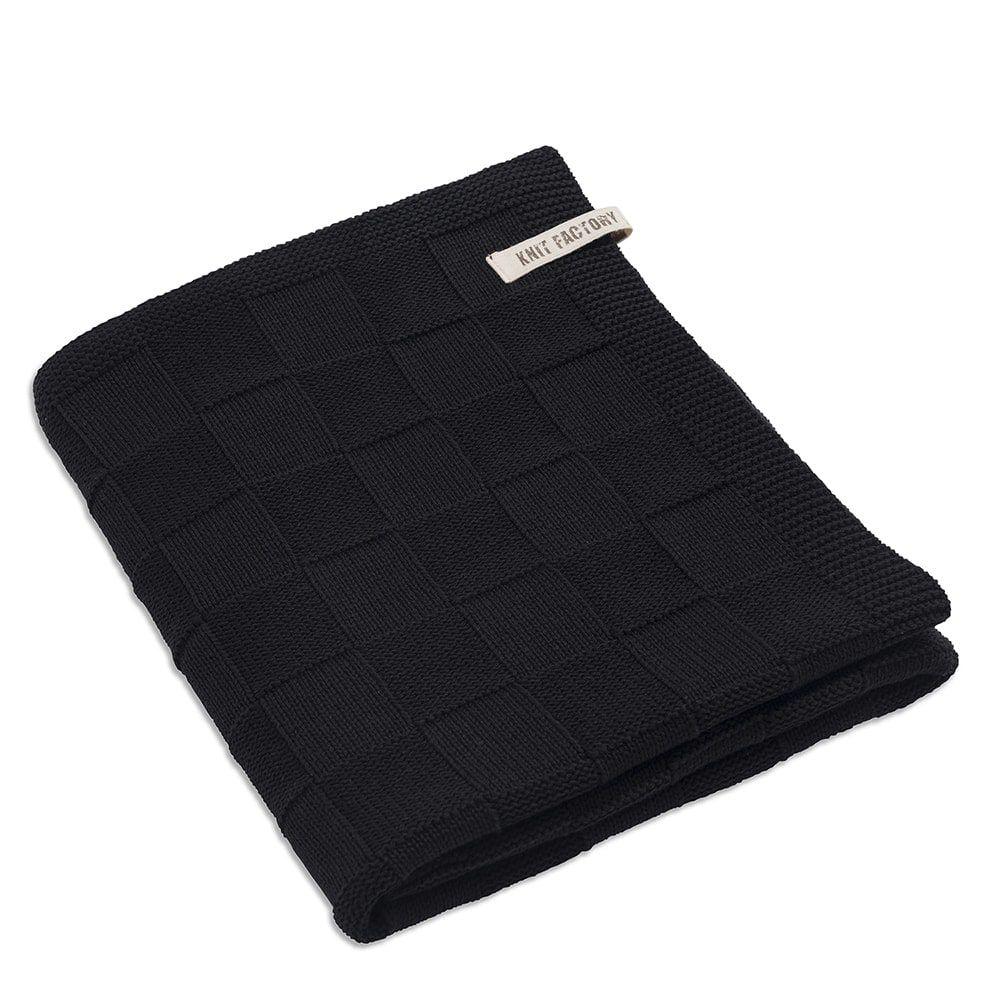 badetuch 90x180 cm schwarz