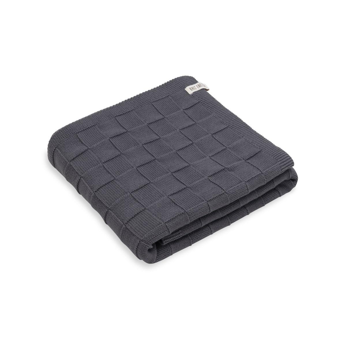 knit factory kf20222501051 badhanddoek ivy antraciet 1