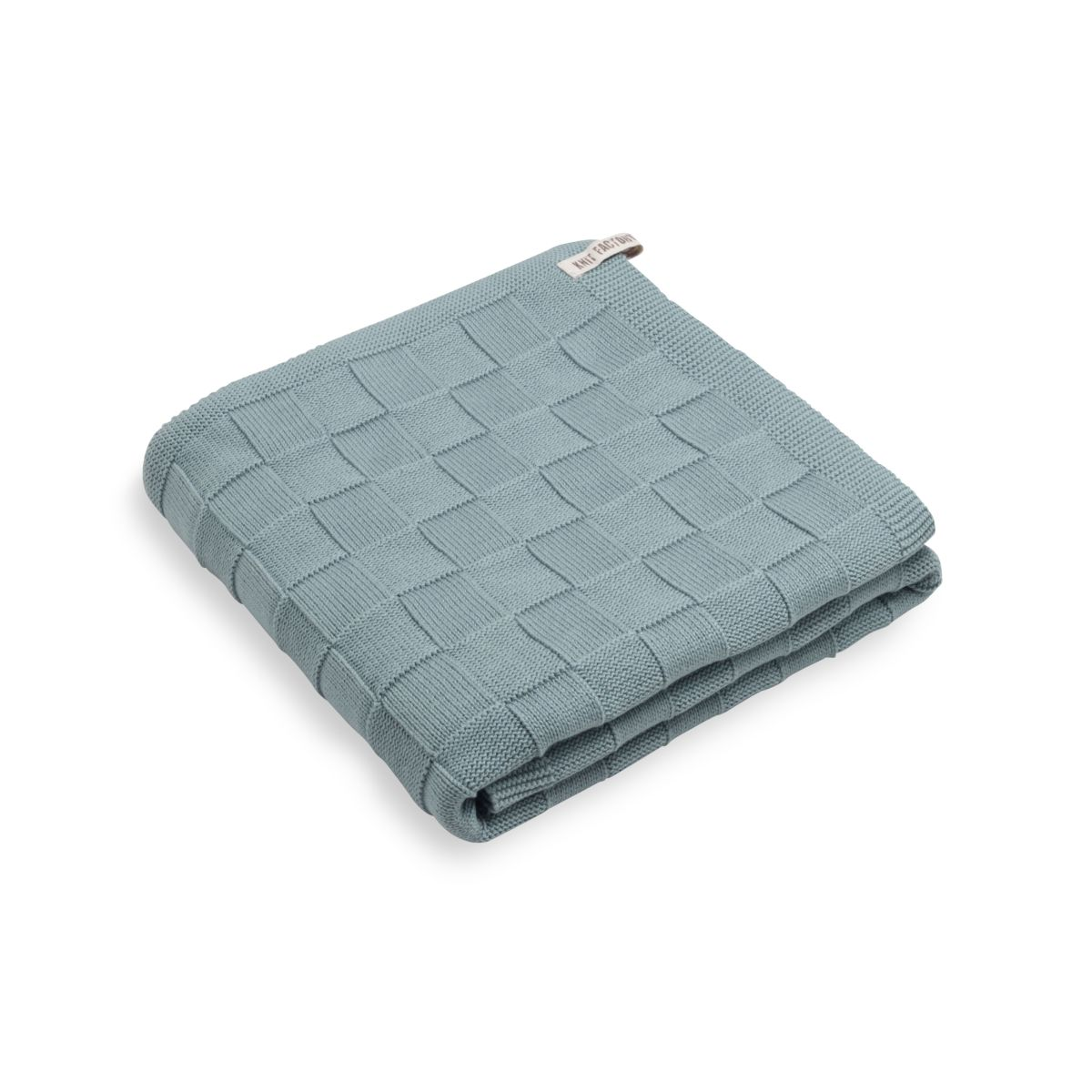 knit factory kf20222500951 badhanddoek ivy stone green 1