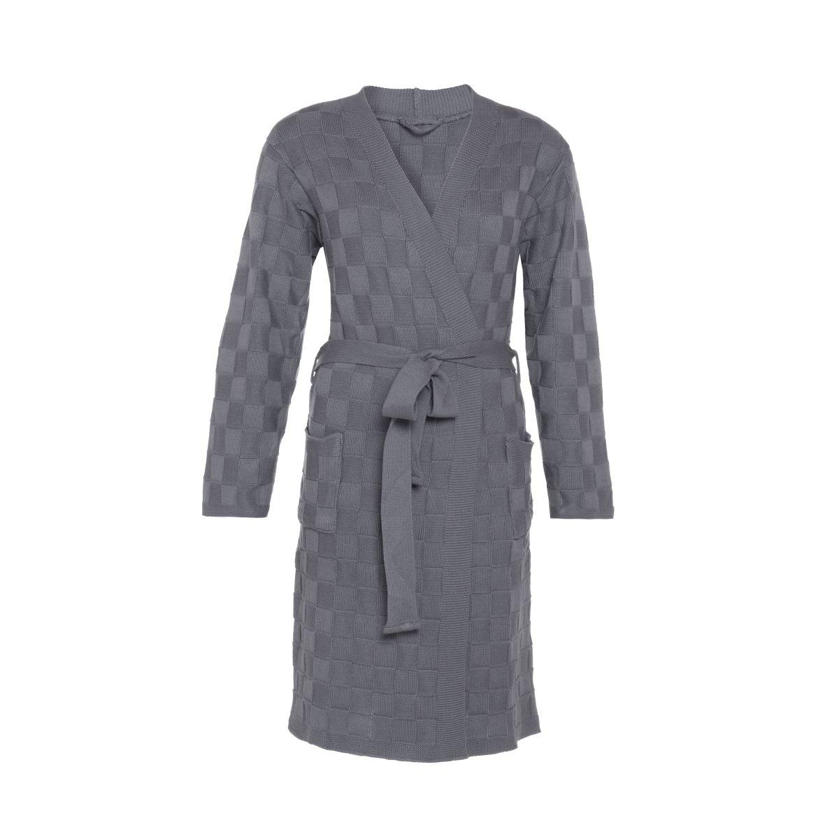 knit factory kf20222000649 badjas ivy med grey sm 1