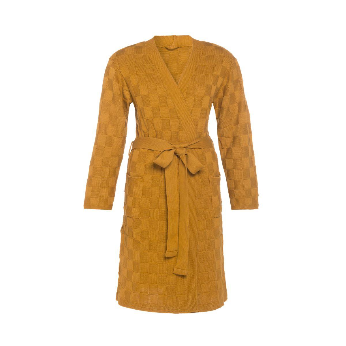 knit factory kf20222001749 badjas ivy oker sm 1