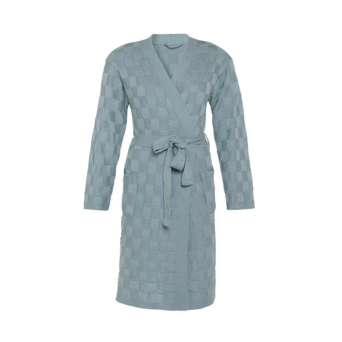 knit factory kf20222000951 badjas ivy stone green lxl 1