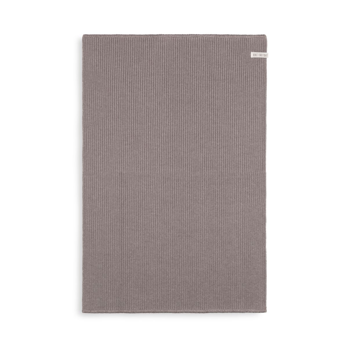 knit factory kf20322802952 badmat morres taupe 80x50 1