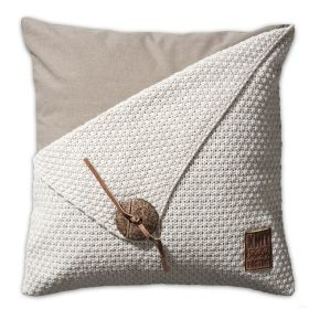 Barley Cushion Beige - 50x50