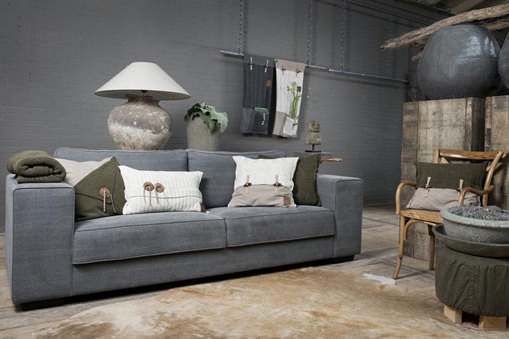 barley cushion beige 50x50
