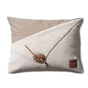 Barley Cushion Beige - 60x40