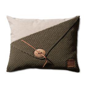 Barley Cushion Green - 60x40