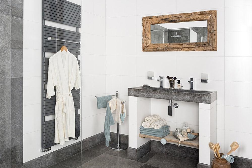 bath towel 70x140 cm stone green