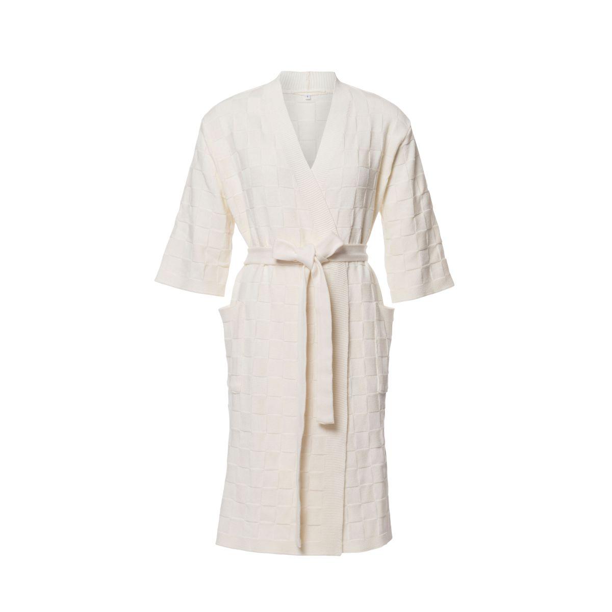 bathrobe ecru s