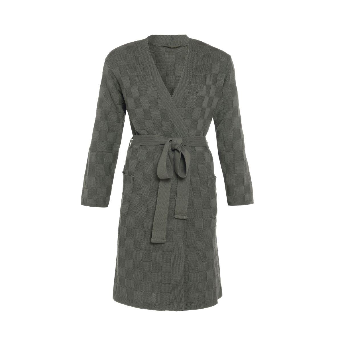 bathrobe ivy khaki sm