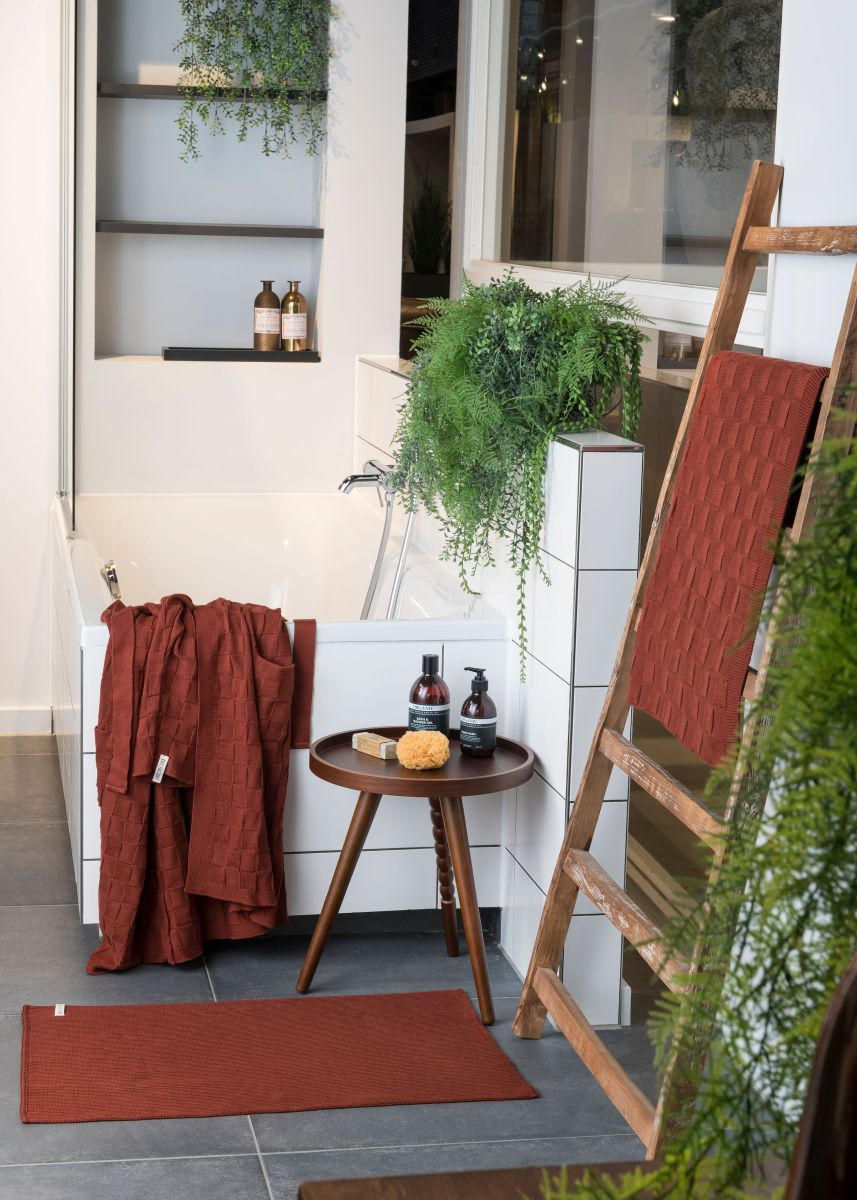 bathrobe ivy rust sm