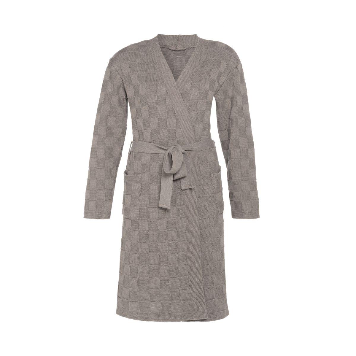 bathrobe ivy taupe lxl