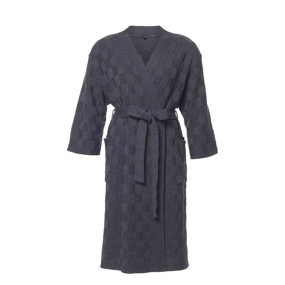 bathrobe size l anthracite