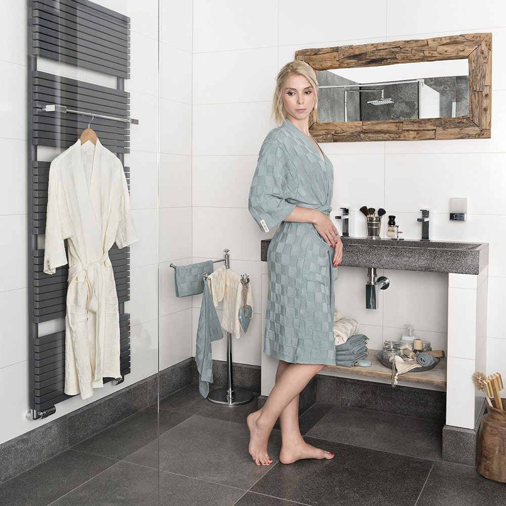 bathrobe size l taupe