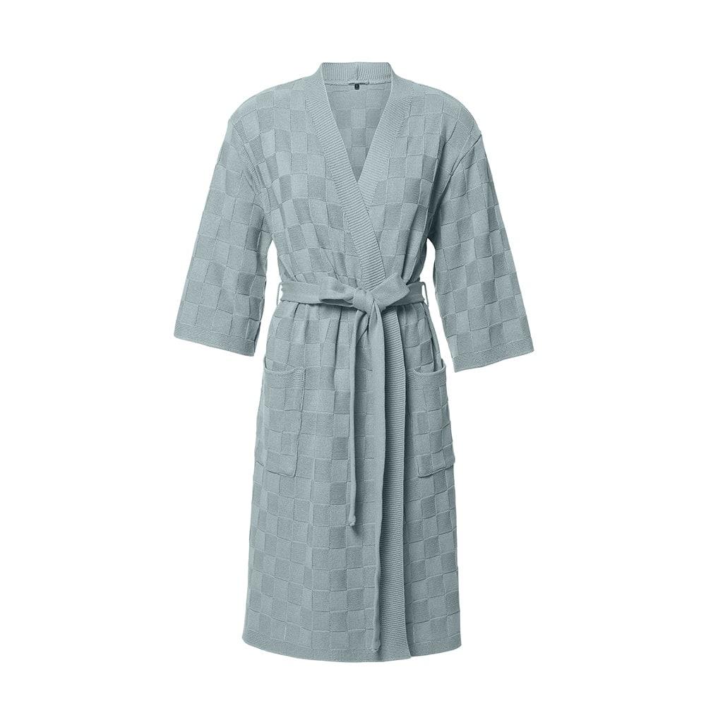 bathrobe size s stone green