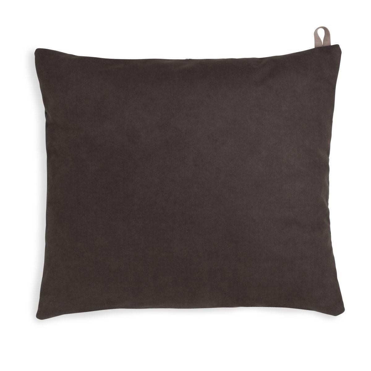 beau cushion anthracite 50x50