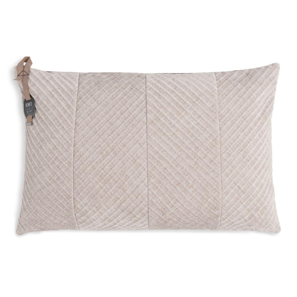beau cushion beige 60x40