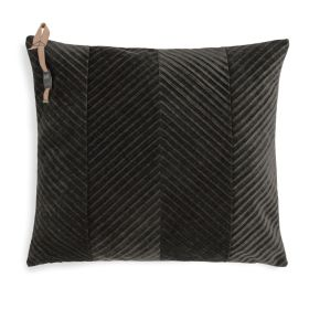 Beau Cushion Dark Brown - 50x50