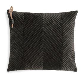 Beau Cushion Dark Brown - 50x50