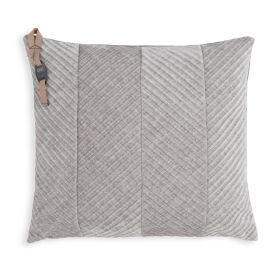 Beau Cushion Light Grey - 50x50