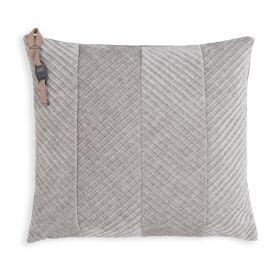 Beau Cushion Light Grey - 50x50