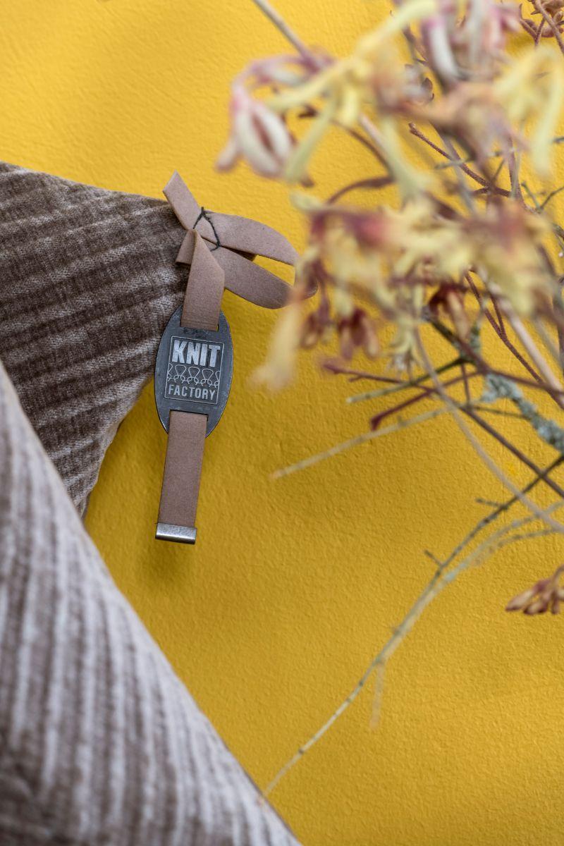 beau cushion light grey 50x50