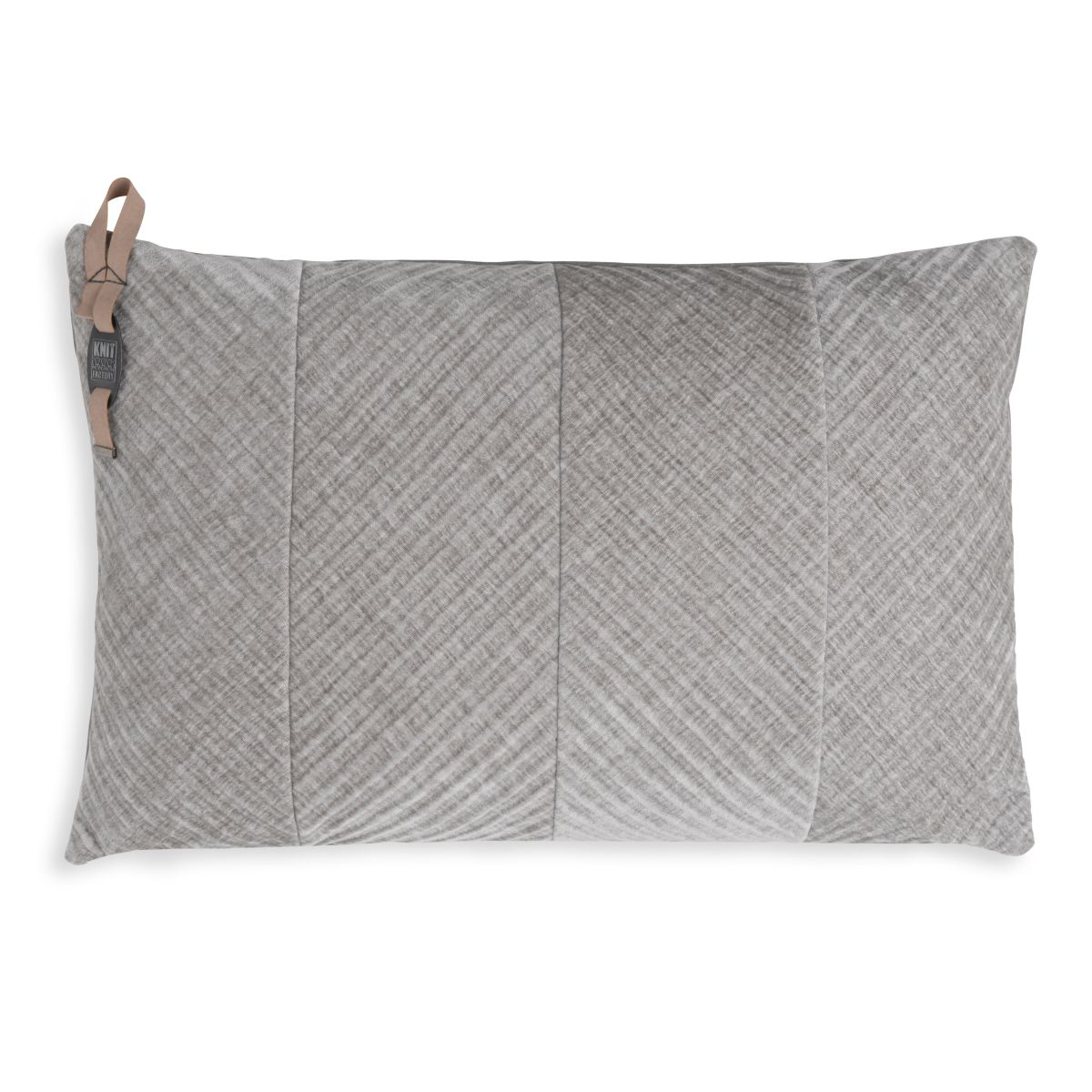 beau cushion light grey 60x40