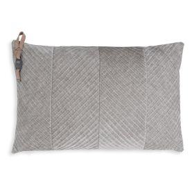 Beau Cushion Light Grey - 60x40