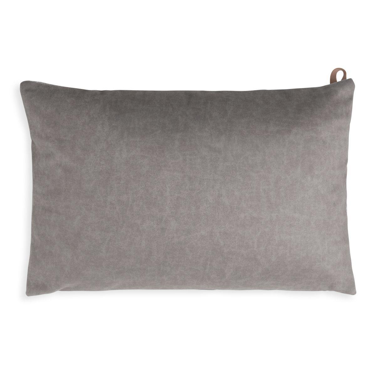 beau cushion light grey 60x40