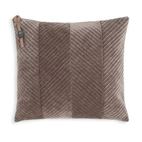 Beau Cushion Taupe - 50x50